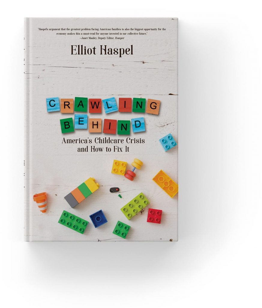 Crawling Behind by Elliot Haspel, bookcover.